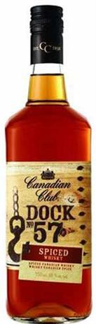 Canadian Club Canadian Whisky Dock No 57 Spiced